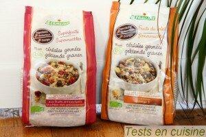 Muesli céréales germées bio Germline