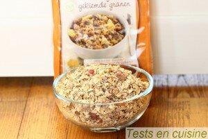 Muesli céréales germées fruits du soleil bio Germline