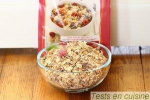Muesli céréales germées superfruits bio Germline