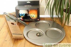 Poêle triblinis et cuit oeuf au micro-ondes disponibles chez Cuisin'Store