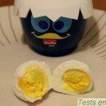 cuit oeuf au micro-ondes : œuf dur, le coeur