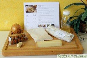 Risotto à la noisette et au beaufort : les ingrédients