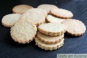 Biscuits à la farine d'épeautre et sésame - Ceres