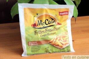 Frites fraîches McCain coupe rustique