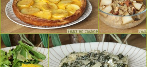 Review : tests de recettes d'avril