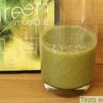 Green smoothie détox : verre