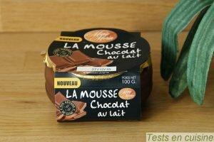 Mousse chocolat au lait Marie Morin