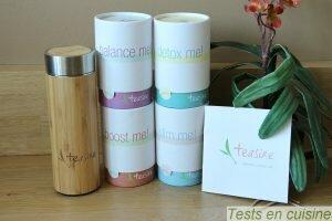 Teasire : thés détox et bio