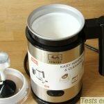 Cremio® Melitta : mousse de lait chaud