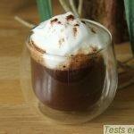 Cremio® Melitta : chocolat chaud avec mousse décorée