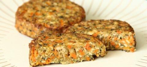 Galette gourmande lentilles et carottes Le bon végétal Herta