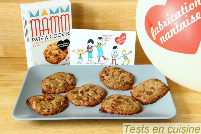 Cookies Mamm cookies après cuisson